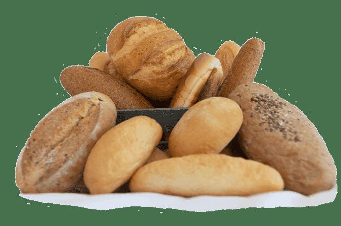 Gama de panes Panadería Alba